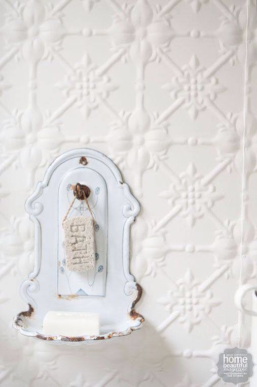 Rustic soap holder