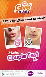 Kissing Game - Kissing Test.   And I thought this was only a Joke on a Movie!!.  #Weird