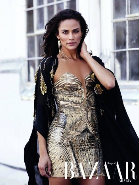 Paula Patton   Harpers Bazaar Arabia December 2011
