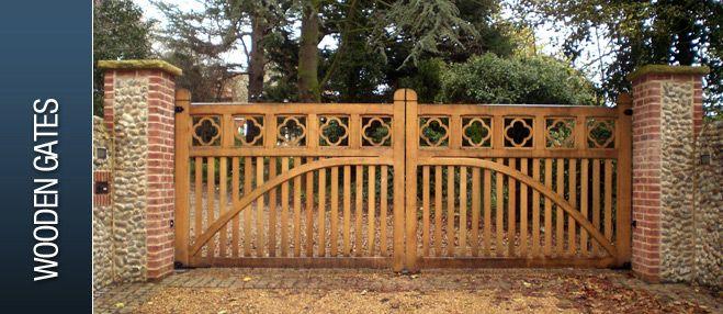 wooden driveway gates for sale | Electric Gates Direct - Wooden Gates, Metal Gates, Wrought Iron Gates ...