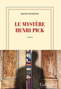 Le Mystère Henri Pick, David Foenkinos ~ Le Bouquinovore C'est bon ! Une belle lecture :D