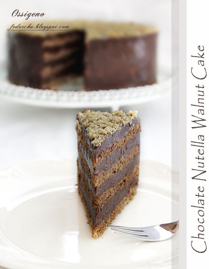 Шоколадово-орехова торта