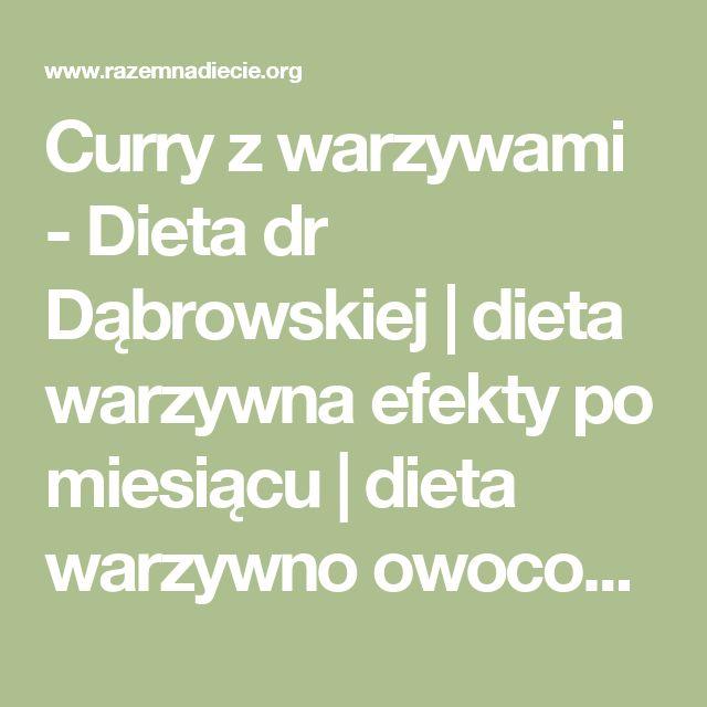 Curry z warzywami - Dieta dr Dąbrowskiej | dieta warzywna efekty po miesiącu | dieta warzywno owocowa | oczyszczająca dieta