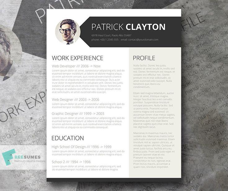 25+ legjobb ötlet a Pinteresten a következővel kapcsolatban Free - top free resume templates