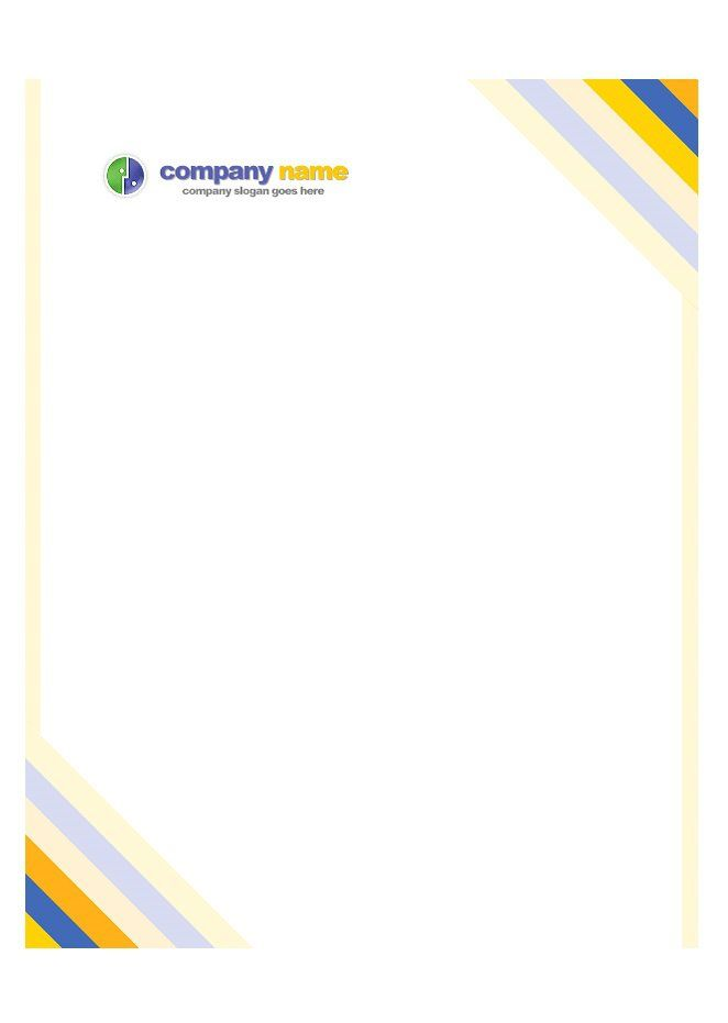 8 best letterhead images on Pinterest Letterhead template - Official Letterhead