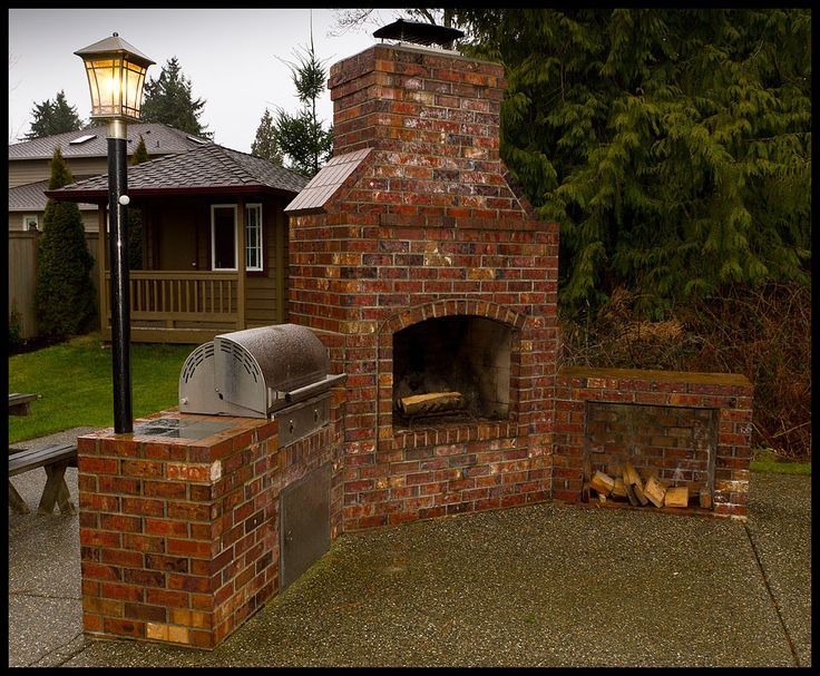 Brick Barbeques Brick Bbq Fireplace Brick Bbq Backyard Fireplace Backyard