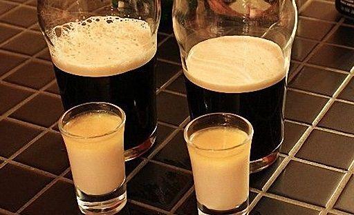 Cocktail «Irish bomb»