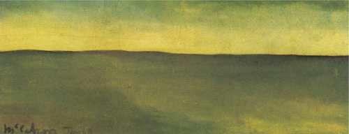 Colin McCahon The Green Plain 1948