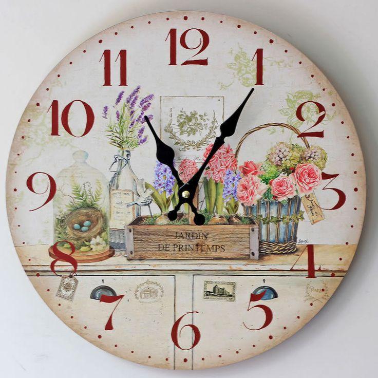 M s de 25 ideas incre bles sobre decoraci n del reloj de pared en pinterest grandes relojes - Reloj de pared para cocina ...