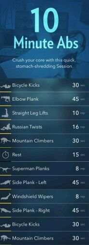 Abs workout for an amazing core