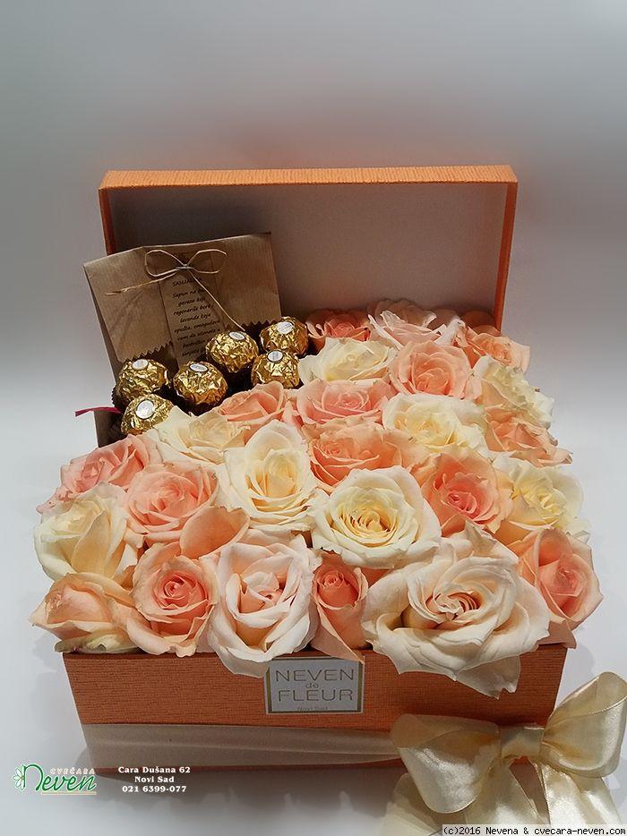 Cveće u kutiji Flowers in box Boxofflowers