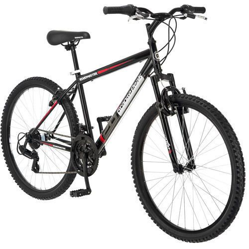 Seller: Products Universal, Category: Road Bicycles, Price: $139.99, Title: Mountain Bike Bicycle 26 Suspension Frame Full Shimano Mens 18 Speed Bikes