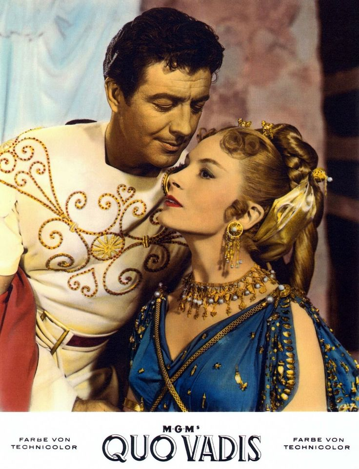 1001 Classic Movies: Quo Vadis | Classic movies, Deborah ...