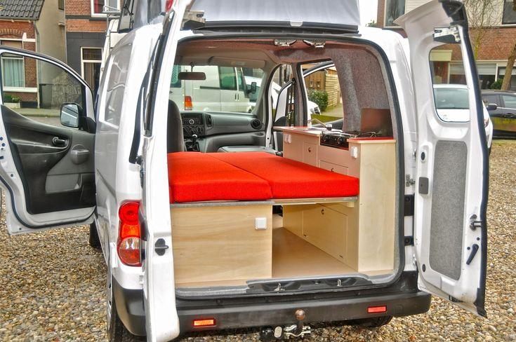 9 best nissan nv200 campers images on pinterest campers. Black Bedroom Furniture Sets. Home Design Ideas