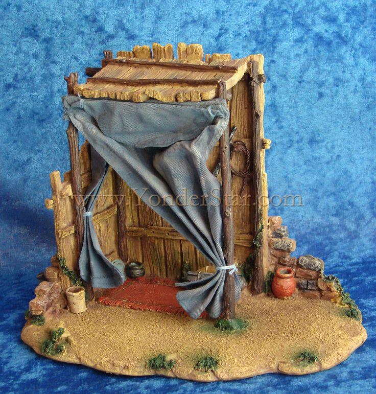 "Shepherd Tent 5"" Fontanini Village Building - 54310"