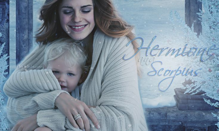 One of my most favorite manipulations I have ever seen. I love this picture!! ***    Draco & Hermione / Dramione ---(Harry Potter)--- Hermione and her son Scorpius by ~feltsbiannn on deviantART