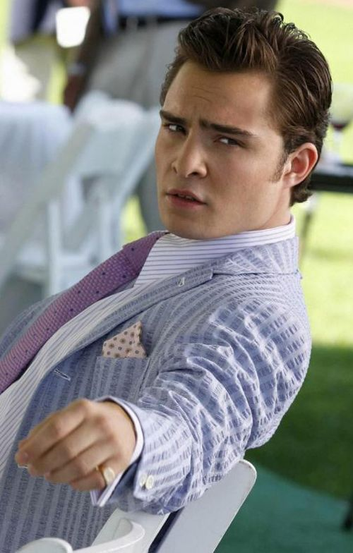 I miss this face. I need some Gossip Girl reruns or Ed Westwick needs to be cast in something new...QUICK.