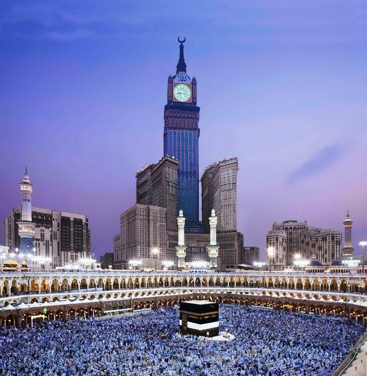 Gambar Ka'bah - Tower Royal Clock