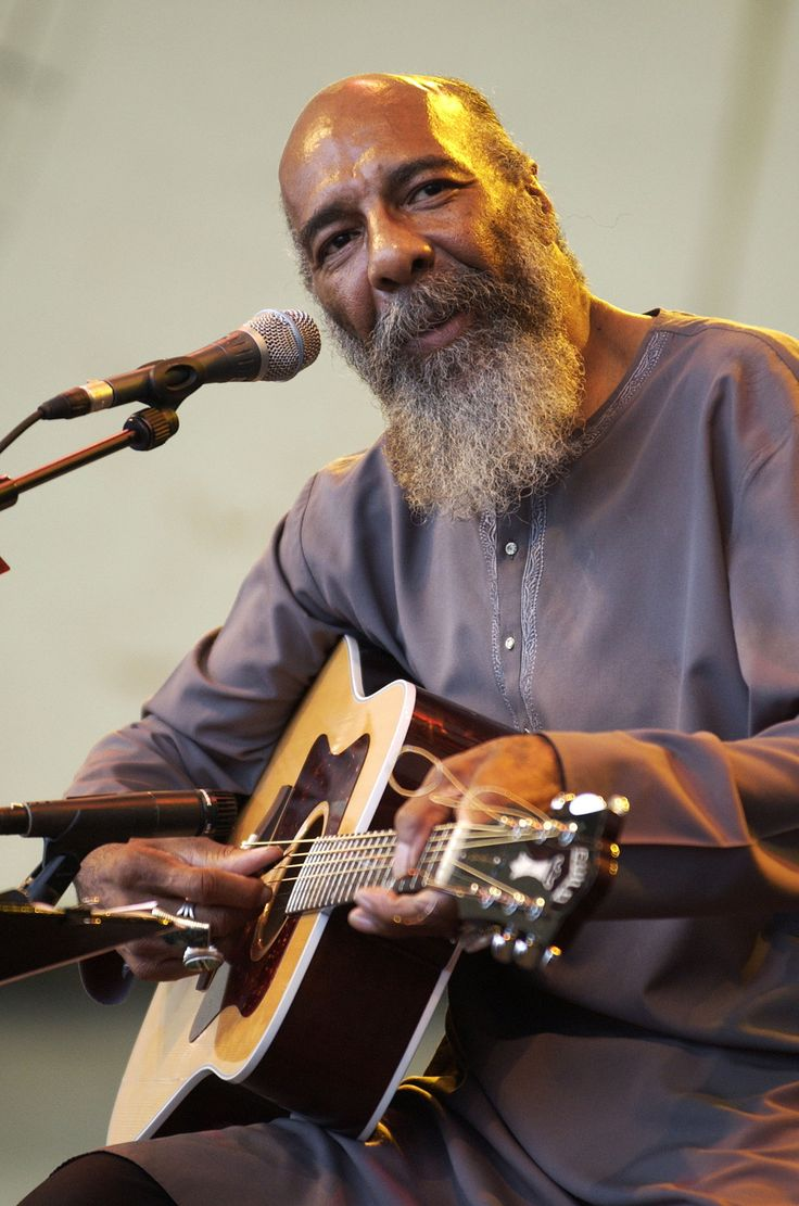 RICHIE HAVENS: (1941 - 2013) - SINGER  Sadly this month it will be 2 years since this wonderful, humble man has left us.