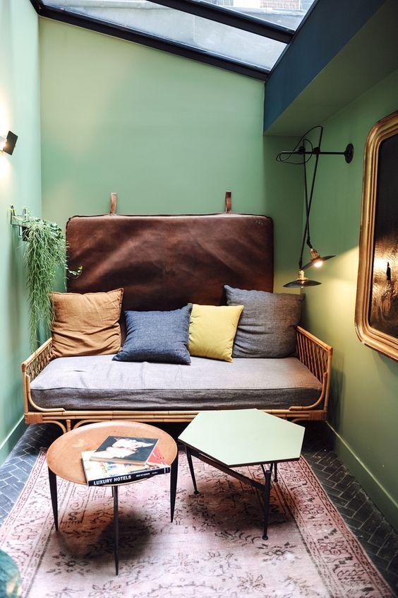 25 beste idee n over kleine woonkamers op pinterest kleine kamer layouts - Een kleine rechthoekige woonkamer geven ...