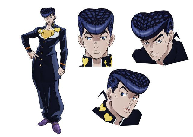 Jojo S Bizarre Adventure Diamond Is Unbreakable Character Designs And Theme Song Performer Announcement Posted Jojo S Bizarre Adventure Characters Jojo Bizarre Jojo Bizzare Adventure