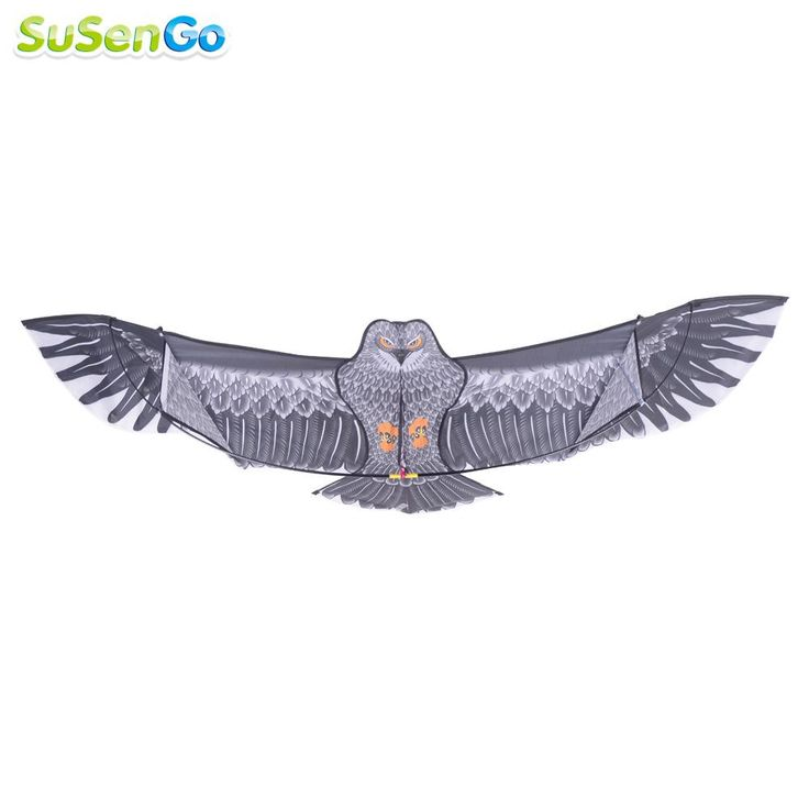 SuSenGo 1.8m Eagle Kite with 50m Handle Line High Quality Outdoor Flying Higher Big Kites