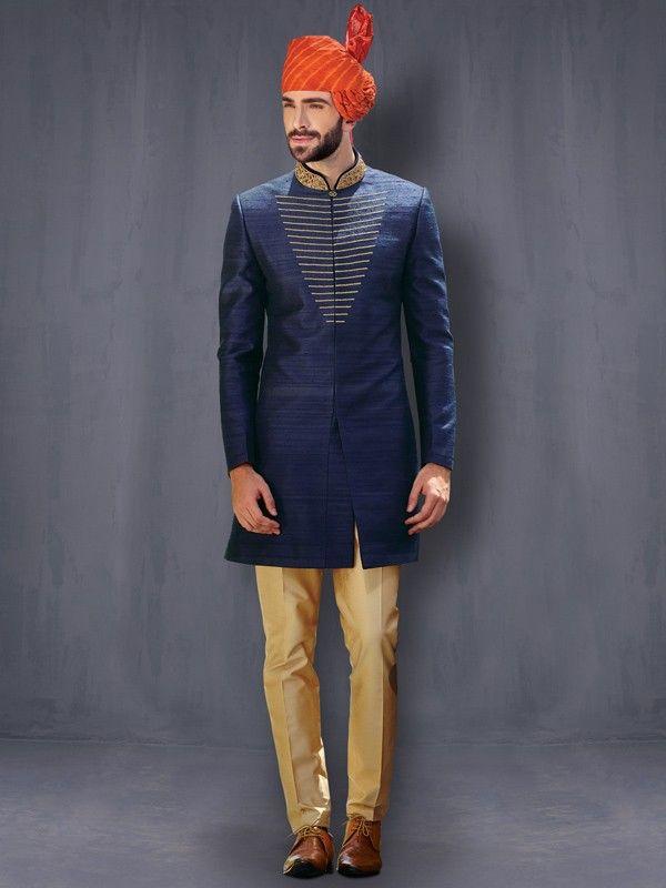 Indowestern for Men Online   Indo Western for Men   Indo Western with Patiala   Indo Western Breeches