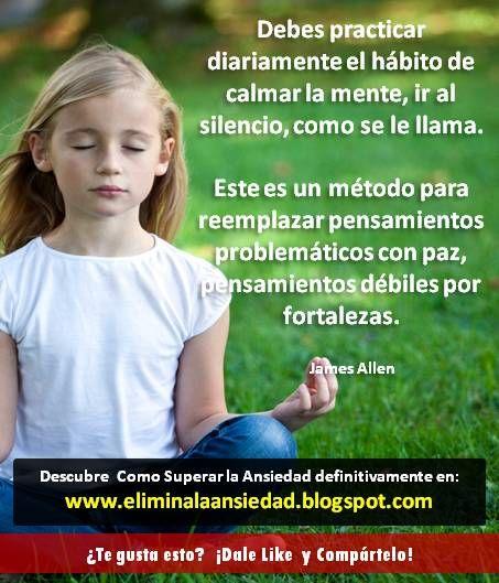 Visita: http://eliminalaansiedad.blogspot.com/ y Descubre como superar la ansiedad definitivamente