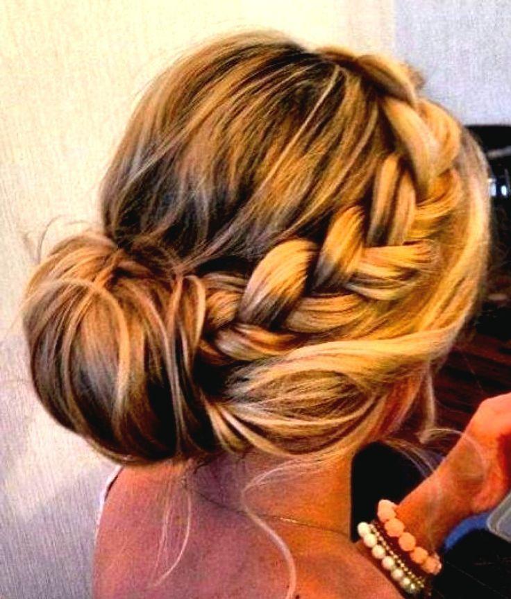 Brautjungfer Frisuren für Lange Haar 2015