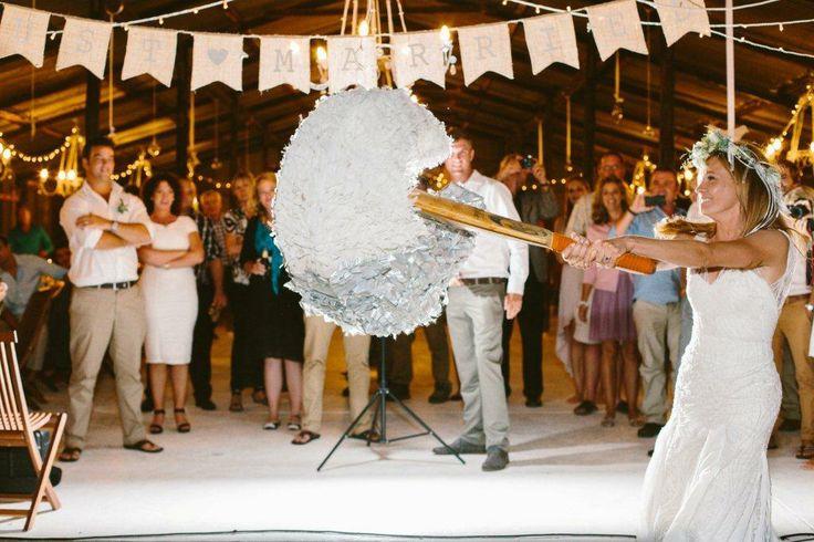 #wedding cake #piñata #fullmoon #different wedding cake
