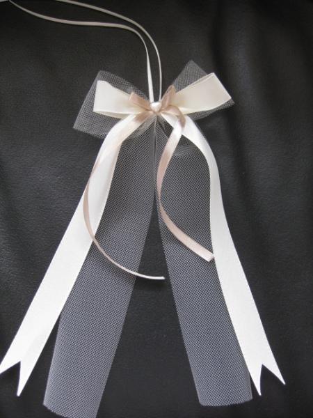 antennenschleifen f r g ste auto wedding decorations. Black Bedroom Furniture Sets. Home Design Ideas
