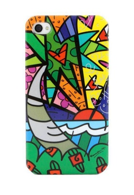 Need an iphone just so I can get this Romero Britto cover