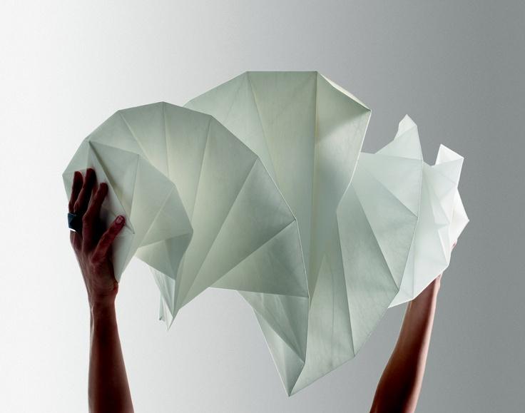 Mendori in unfolding process  http://www.artemide.net/in-ei/