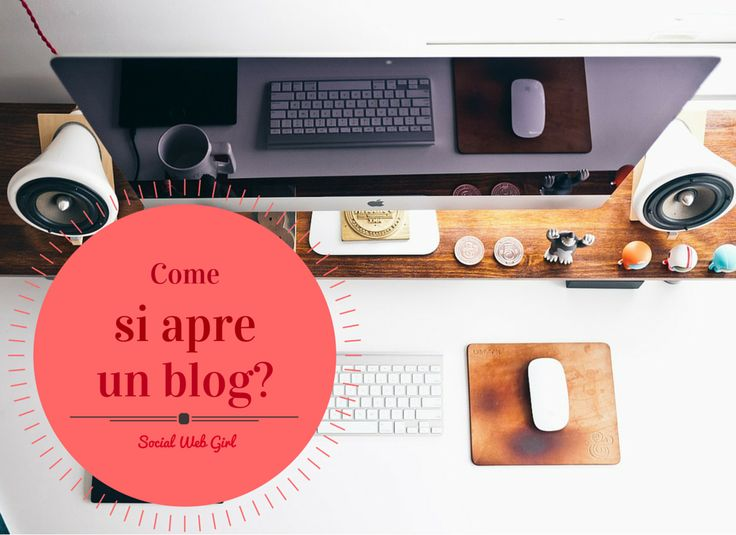 Come si apre un blog?