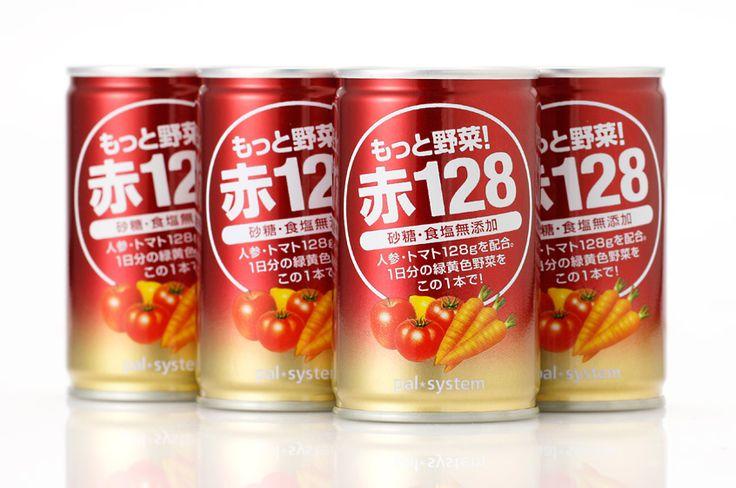 「もっと野菜!赤128」野菜・果実ミックスジュース - WORKS