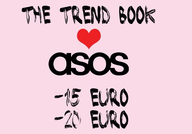 DISCOUNT CODES FOR ASOS (VALID 4-24 JUNE)http://www.thetrendbook.com/2012/06/trend-book-loves-asos-sconti-speciali.htmlThe trend book-fashion blog