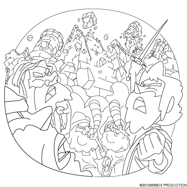 jericho wall coloring pages - photo#11