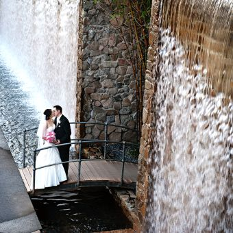 #StonyWaterfall# #Never a Bridge too Far# http://www.hmphotography.com.au/wedding-photography-gallery/ Wedding Photography Gallery | HM Photography