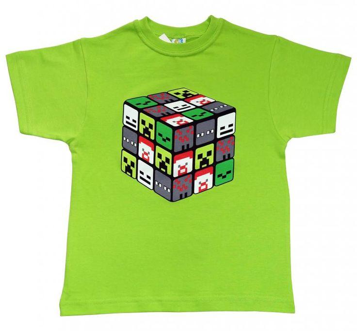 T-shirt dla miłośnika MINECRAFT'a 158 -PL - NOWOŚĆ