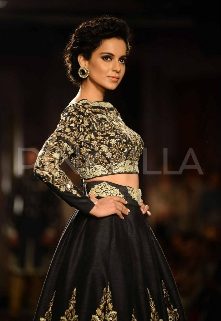 India Couture Week: Kangana walks for Anju Modi 0