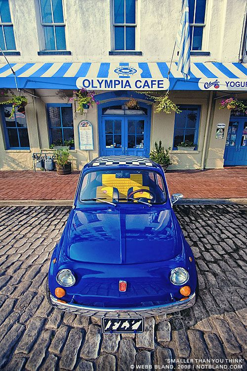 Yves Klein blue 500 😂👌