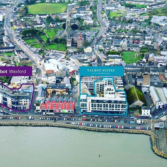 We are located less than 100 metres from @talbotwexford on Paul Quay in Wexford Town. #talbot #suites #talbotcollection #accommodation #selfcatering #holiday #irish #summer #staycation #wexford #visitwexford #irelandsancienteast #sunny #south #east #ireland