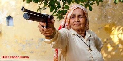 Penembak Jitu dari India Nenek 78 Tahun