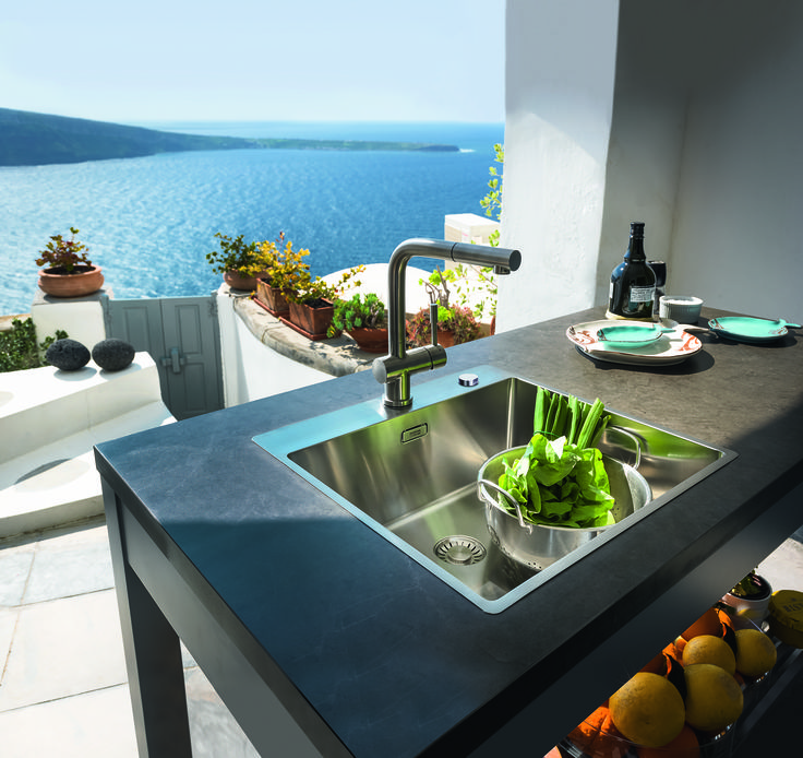 25+ parasta ideaa Franke Atlas Pinterestissä Franke armaturen - led leisten küche
