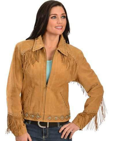 Scully Studded Fringe Jacket - Country Outfitter