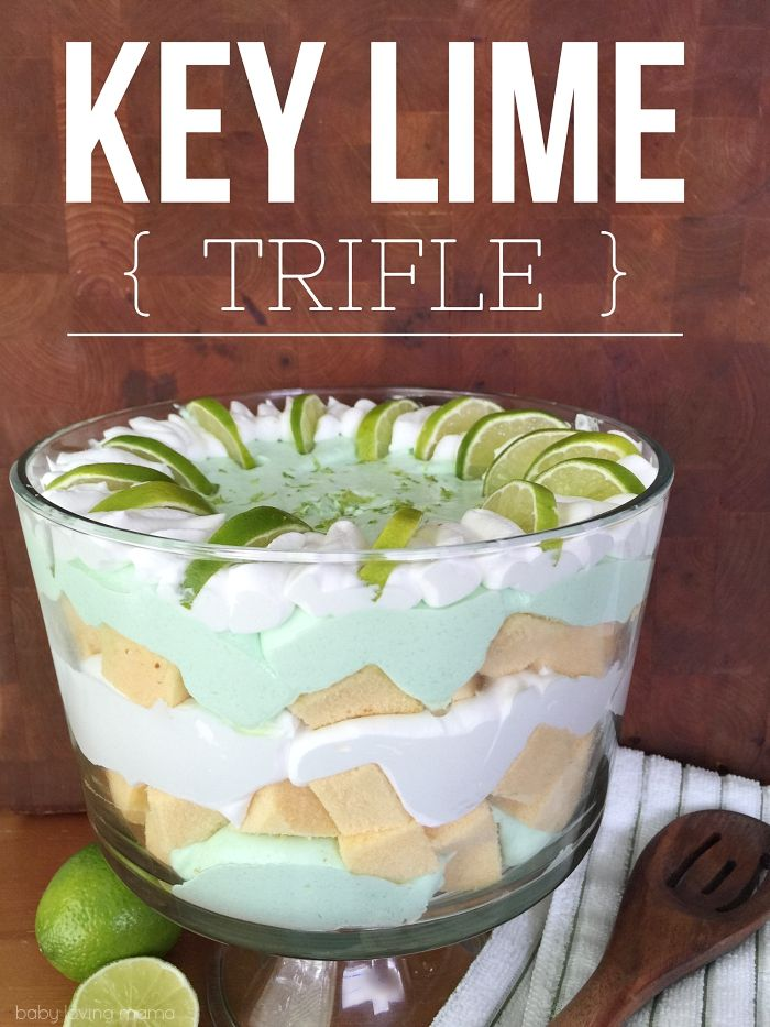 Key Lime Trifle: See how you can make this refreshing key lime trifle in just 15 minutes with this no-bake layered dessert!