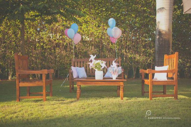 Detalhes de Festa: Uma tarde inesquecível no jardim
