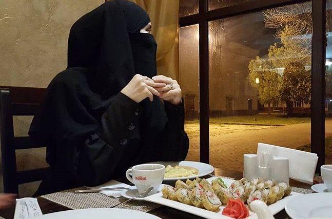 Beauty muslim girl # peçe nikab nikap nikabis kapalı çarşaf hicab hijab tesettür