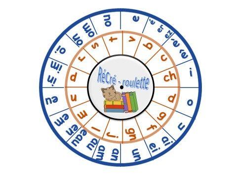 Syllabes - La RéCré - roulette