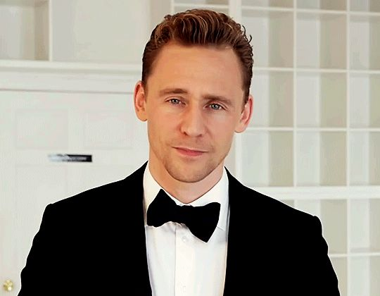 Tom Hiddleston, Could he be any more adorable? His GIFs are 100 x hotter than just regular pics...and his regular pics are hot.